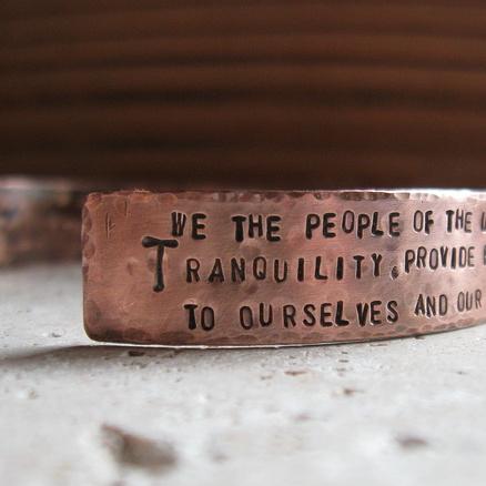 constitution bracelet